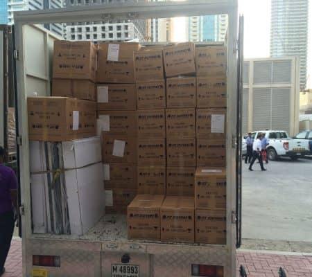 corporate office movers dubai